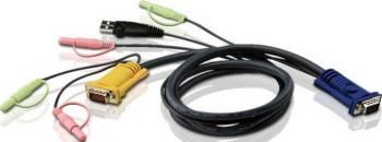 Cablu KVM Aten 2L-5303U 3m Accesorii KVM