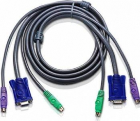Cablu KVM ATEN PS2 2L-5003PC 3m Accesorii KVM