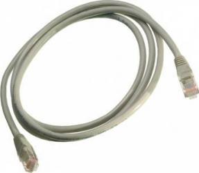 Cablu Nexans UUTP cat 5e neecranat 1.5m PVC gri Essential Cabluri Retea
