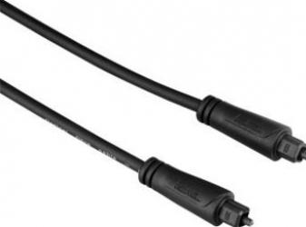 Cablu optic audio Hama ODT 1S 0.75m Negru