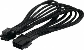 Cablu Orico 8-pin ATX Male - 4+4-pin ATX Female 40cm Negru Cabluri Componente