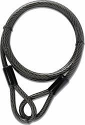 Cablu otelit antifurt pentru bicicleta Yale YCBL1/8/300 8mm x 300cm Seifuri Lacate Feronerie