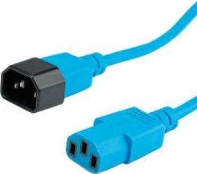 Cablu prelungitor alimentare Roline 1.8m Albastru Cabluri Componente