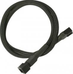 Cablu Prelungitor Nanoxia 3 pini 60 cm Accesorii Ventilatoare