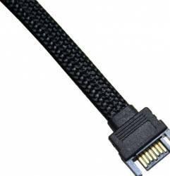 Cablu Prelungitor NZXT SATA 30 cm Negru