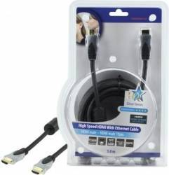Cablu profesional HDMI 1.4 19pin Tata - HDMI 1.4 19pin Tata 5.0M,HQ Cabluri Video