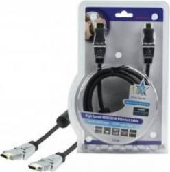 Cablu profesional HDMI 1.4 19pin Tata - SWIV Tata 1.5M,HQ Cabluri Video