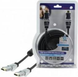 Cablu profesional HDMI 1.4 19pin Tata - SWIV Tata 5.0M,HQ Cabluri Video