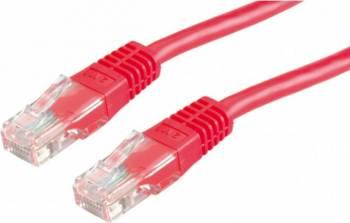 Cablu retea Value UTP cat. 6 2m Rosu Cabluri Retea