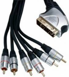 CABLU SCART - 6 RCA/3IN AND 3 OUT Cabluri Video