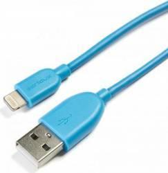 Cablu Serioux Lightning - USB-A 2.0 1m Albastru Cabluri telefoane mobile