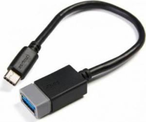 Cablu Serioux USB-C 3.0 T - USB-A 3.0 M 0.2m Cabluri Periferice