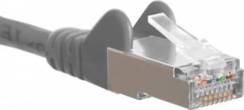 Cablu SFTP Patchcord DigitalBox StartLan Cat.6a 1m Gri Cabluri Retea