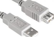 Cablu USB Hama 1.8m Gri Cabluri Periferice