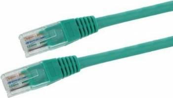 Cablu UTP 4World cat. 5E 15m Verde Cabluri Retea