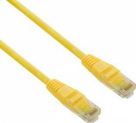 Cablu UTP 4World cat. 5e 1m Galben Cabluri Retea