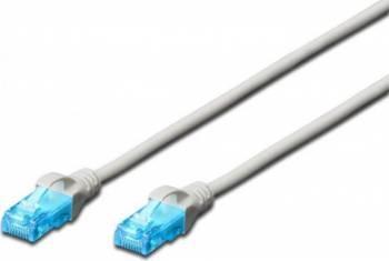 Cablu UTP Digitus Cat. 5e 15m Gri Cabluri Retea
