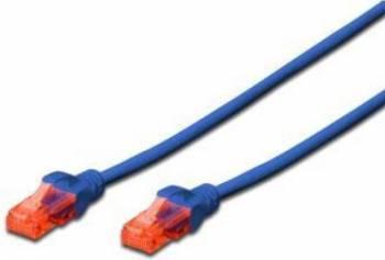 Cablu UTP Digitus Cat. 6 3m Albastru Cabluri Retea