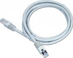 Cablu FTP Gembird cat.6 1.5m Gri Cabluri Retea