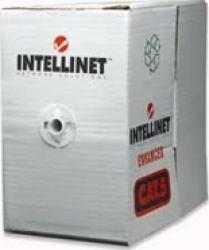 Cablu UTP Intellinet Cat 5E rola 305m Gri Cabluri Retea