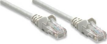 Cablu UTP Intellinet Patchcord UTP Cat.6 10m gri