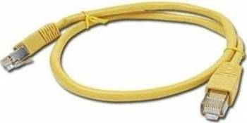 Cablu Utp Patch cord cat. 5E 0.5m Galben PP12-0.5M