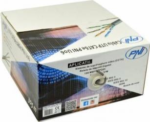 Cablu UTP PNI CAT5e PNI-U06 305m Accesorii Camere Supraveghere