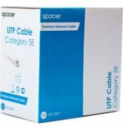 Cablu UTP SPACER Cat 5E Cupru Rola 305m Cabluri Retea