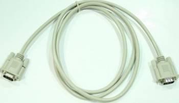 Cablu VGA 15p HD tata - 15p HD tata 200 cm Alb