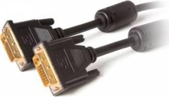 Cablu video DigitalBox DVI-D Male - DVI-D Male Dual Link 1.8m Negru Cabluri Video