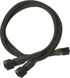 Cablu Y Nanoxia 3-pini 30 cm Accesorii Ventilatoare