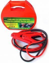 Cabluri pornire auto RoGroup cu LED 400A Compresoare Redresoare and Accesorii