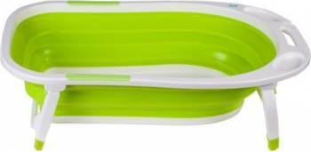 Cadita pliabila U-Grow Silicon 0-5 ani  U8833-G Verde Cadite, prosoape si accesorii baie