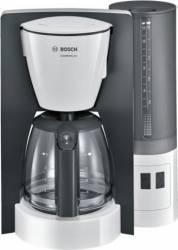 Cafetiera Bosch TKA6A041 1.2 l 1200W sistem anti-picurare oprire automata program decalcifiere Alb