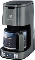 Cafetiera Electrolux EKF7810 1080W 1.65L Timer programabil Autocuratare Filtru permanent Gri Cafetiere