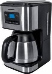 Cafetiera Heinner Digitala HCM-900XMC 900W 1L cana termos Lcd Timer Inox Cafetiere