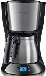 Cafetiera Philips Daily Collection HD747020 1000W 1.2L Functie Anti-picurare Negru Cafetiere
