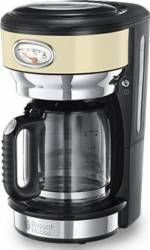 Cafetiera Russell Hobbs 21712-56 1000W 1.25L Functie Pause and Pour Crem Cafetiere
