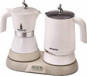 Cafetiera Set pentru mic dejun 3 in 1 Ariete 1344 500W Alb Cafetiere