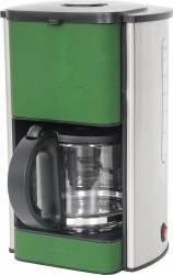 Cafetiera Heinner HCM-SIL1080 1080W 1.5L Functie de mentinere la cald Verde Cafetiere
