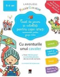 Caiet de jocuri si activitati pentru copii isteti 5-6 ani grupa mare - Larousse