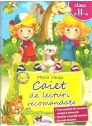 Caiet de lecturi recomandate clasa 2 - Maria Vantu