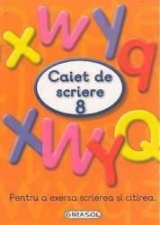Caiet de scriere 8 Carti