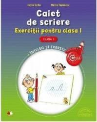 Caiet de scriere cls 1 exercitii - Sorina Barbu Marina Radulescu