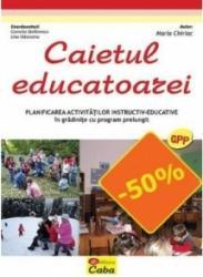 Caietul educatoarei - planificarea activitatilor instructiv educative in gradini