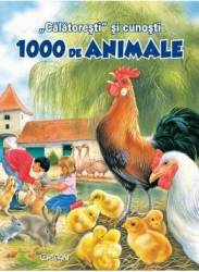Calatoresti si cunosti 1000 de animale Carti