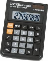 Calculator de birou Citizen SDC-022S Black Calculatoare de birou