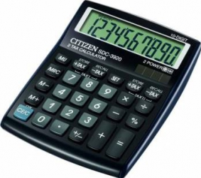Calculator de Birou Citizen SDC-3920BP Calculatoare de birou