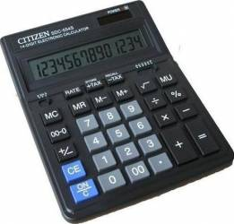 Calculator de birou Citizen SDC-554S Black Calculatoare de birou