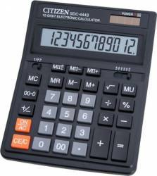 Calculator de birou Citizen SDC444S Black Calculatoare de birou